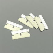T585 Single edge razor blades, carbon steel. Box of 100