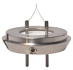 JEOL K-type Filaments with Stainless Steel Alignment Ring for SEM and TEM, 6 ks/bal
