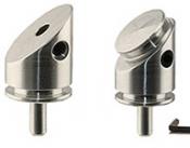 EM-Tec P38 fixed 38° pre-tilt sample holder for FEI Dual Beam FIB system, dia.12,7mm x 17mm, pin type, 1 ks