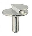 EM-Tec Low profile SEM pin stub, dia.12,7mm, profil 90°, 5ks/bal