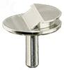 EM-Tec Low profile SEM pin stub, dia.12,7mm, profil 38°, 10ks/bal