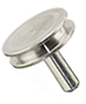 SEM pin stubs, Al, 12,7 mm diameter top, pin l=9,5 mm, 50 ks/bal