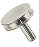 SEM pin stubs, Al, 12,7 mm diameter top, pin l=9,5 mm, 500 ks/bal