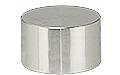 JEOL ᴓ25 x 16mm cylinder SEM stub, Al, 10 ks/bal