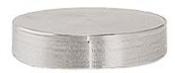 JEOL ᴓ50 x 10mm cylinder SEM stub, Al, 10 ks/bal