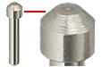 Gatan 3View system pin stub with std ᴓ1,4mm flat, ᴓ2mm pin x 12,5mm H, Al, 50 ks/bal
