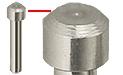Gatan 3View system pin stub with std ᴓ2,4mm flat, ᴓ2mm pin x 12,5mm H, Al, 10 ks/bal