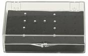 EM-Tec PS28 storage box for 28 Gatan 3View pin stubs, 1 ks/bal