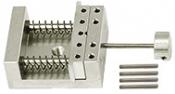 EM-Tec VS12 compact vise type sample holder for up to 12mm, M4, 1 ks/bal