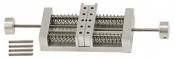 EM-Tec VS26 compact double action spring-loaded vise holder for up to 26mm, pin, 1 ks/bal