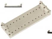 EM-Tec V120 versatile vice clamp sample holder for up to 120mm, pin-type, 1ks