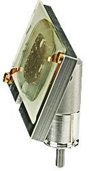 EM-Tec P73 EBSD 70° pre-tilt sample holder for geological slides up to 48 x 28mm, pin-type, 1 ks