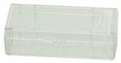 Micro-Tec C29 clear styrene storage box with hinges and a lock, 72x30x19mm, 12 ks/bal