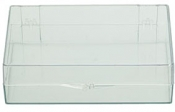 Micro-Tec C46 clear styrene storage box with hinges and a lock, 116x72x32mm, 6 ks/bal