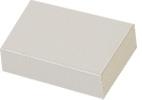 Micro-Tec B20 white sliding type cardboard box, 400 gr/m2, 50x35x15 mm, 50 ks/bal