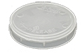 Micro-Tec Wafer carrier tray, 1 inch or 25 mm diameter, polypropylene, 5 ks/bal