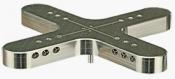 EM-Tec XL100 multi holder for large pin stubs or pin type holders, pin, 1 ks/bal