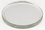 Replacement hardened glass lid for EM-Storr series 80 vacuum sample container, ᴓ100x10mm