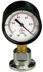 Micro-Tec Quick-check vacuum gauge, DN16KF flange
