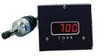 D801W2c wide range vacuum gauge, Torr, A536 Thermocouple sensor, 2 set-points, 5V & RS232 output, 1/8inch NPT