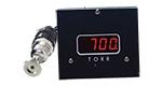 D801W2c wide range vacuum gauge, Torr, A536 Thermocouple sensor, 2 set-points, 5V & RS232 output, DN16KF