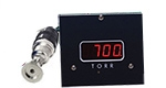 D801W2c wide range vacuum gauge, Torr, A536 Thermocouple sensor, 2 set-points, 5V & RS232 output, DN25KF