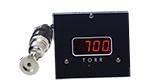 D801W2c wide range vacuum gauge, Torr, A536 Thermocouple sensor, 2 set-points, 5V & RS232 output, DN25KF