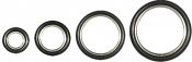 DN16KF seal with 304 stainless steel centering ring with Viton O-ring