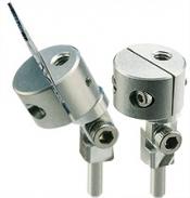 EM-Tec PS18 mini swivel split mount vise for up to 8mm, pin, Al, 1 ks/bal