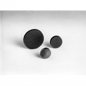 AGG3422A Carbon discs, 25 mm dia, t=3mm, 10 ks/bal