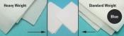 81230 Purity Wipes, White, Standard Weight, 229 x 229mm,  150 ks/bal