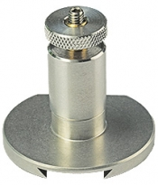 Hitachi HV37 dovetail SEM stage adapter with M4 screw for S-3700N, aluminium/brass, 1 ks/bal