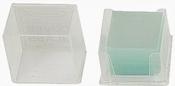 Micro-Tec boro silicate glass coverslips #1, 22 x 22mm, 100 ks/bal