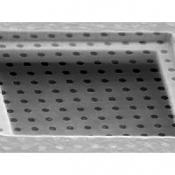 S186-9 Circular hole, 5um dia., separation 10um, grid Au 400 mesh, 10 ks/bal