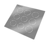 SCER2001 Ceramic grids, 200 mesh with 100 nm ceramic film, 9 ks/nosič