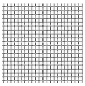 Micro-Tec Precision Wowen Stainless Steel Cloth, 200 mesh,  15 x 15 cm