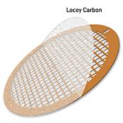 EMR Lacey carbon support film on 300 mesh, Cu grids, 50ks/balení