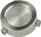 EM-Tec F25 filter disc holder for filter ᴓ 25mm, ᴓ14mm JEOL stub, 1 ks/bal