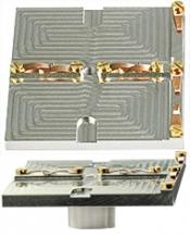 EM-Tec G2.0 geological thin section holder for 2 petrographic slides up to 28x48mm, ᴓ14mm JEOL stub, 1 ks/bal
