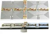 EM-Tec G4.0 geological thin section holder for 4 petrographic slides up to 28x48mm, ᴓ14mm JEOL stub, 1 ks/bal