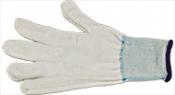 EM-Tec knitted nylon gloves, white, one size fits all, white, 1 pair
