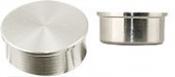 HITACHI ᴓ25 x 6mm M4 cylinder SEM sample stub, saténový povrch, Al, 100 ks/bal