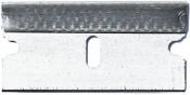 Micro-Tec CB-S standard sharp carbon steel single edge cutting blades, 0,23mm thickness. Box of 100