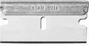 Micro-Tec CB-D durable single edge carbon steel  cutting blades, 0,23mm thickness, box of 100