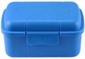 Micro-Tec B40 blue polypropylene plastic hinged storage box, 106x72x55mm, 20 ks/bal