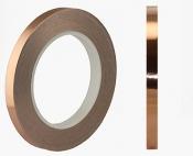 EM-Tec double sided conductive copper SEM tape 25mm x 33m