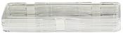 EM-Tec M43A Clear membrane storage box, hinged, 240 x 75 x 30 mm, 1 ks/bal