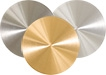 Gold/Palladium Disc Target ᴓ19mm x t=1,5mm, Au/Pd 80/20%, 99,99% Au/Pd