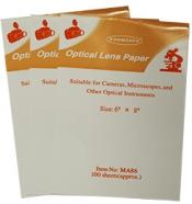 Micro-Tec MA86 optical lens paper, 150 x 200 mm, 3 balíčky po 100 ks