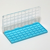 G27750 Storing Plastic Box with 50 compartments, 13x11x4,5mm each